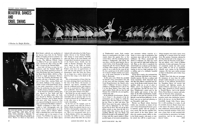 Dance Magazine review
