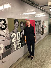 Karen Kain at Osgoode Station