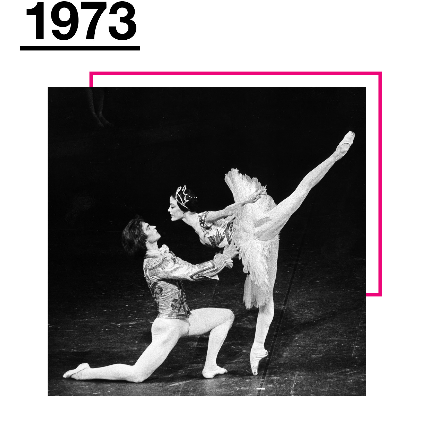 09945c4dbc32 Debuts in Swan Lake at the age of 19 while still a member of the Corps de  Ballet, replacing an injured Veronica Tennant and is promoted to Principal  Dancer.