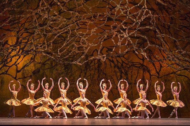 Des artistes du Ballet dans La Belle au bois dormant.