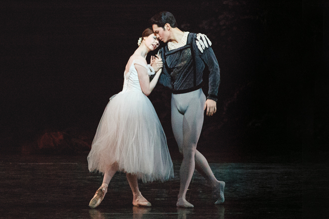Naoya Ebe and Jillian Vanstone in Giselle