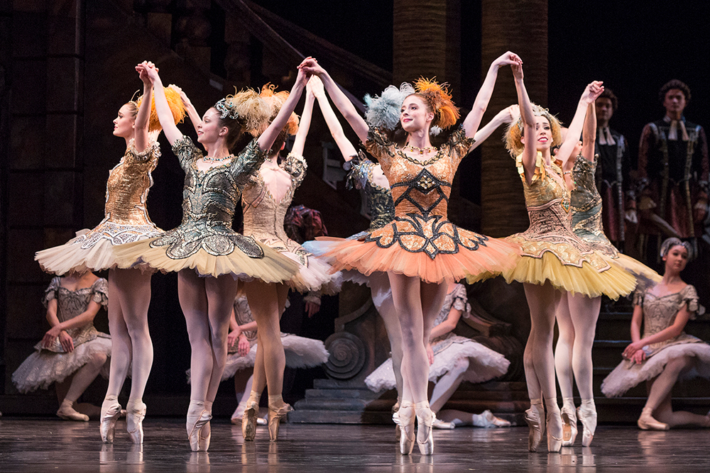 Artists of the Ballet in The Sleeping Beauty.